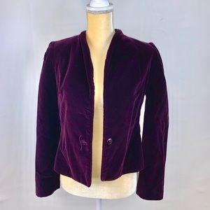 Vintage George Masket Purple Velvet Jacket